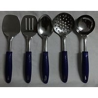 Branded CIELO Stainless Steel Kitchen Tool Set / Spoon Set 5 Pieces