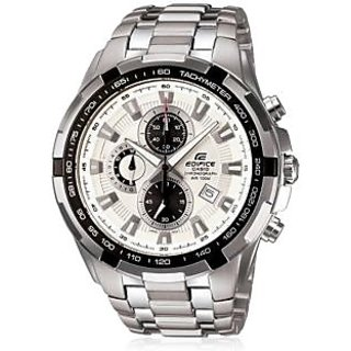 Imported Casio Edifice Ef-539 White Chronograph Watch