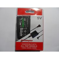 PSP CHARGER AC ADAPTOR WITH FREE PSP HARD CASE BAG GAME P0UCH&PSP SCREEN GUARD