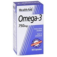 Health Aid Omega - 3 -750Mg - 60 Capsules