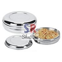 Stainless Steel Food Container Set Of 2