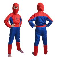 Spiderman Costume Fancy Dress Outfit Suit Mask Children (5-6 Years)