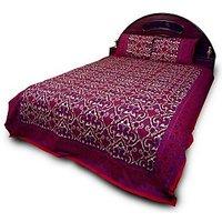Rajasthani Print Pure Cotton Double Bedsheet Set 707