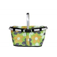 Folding Shopping Basket - Green