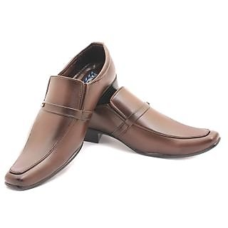 Discownt Siuz Brown Men's Formal Shoes