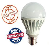5 Watt LED Bulb Set OF 10 Pcs High Power Cool Bright Light