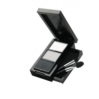 Beauty Colour Pro Eye Shadow Trio (Smoky Black) - Wt 2.7g