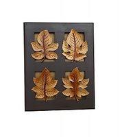 Wood Ocean  Maple Leaf Wall Art
