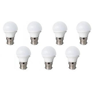 LED BULB 3W BRIGHT WHITE LIGHT LED BULB SAVING ENERGY 1 SET OF 7 PCS.