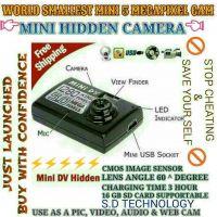 CCTV CAMERA WORLD SMALLEST 5 MEGAPIXEL CAMERA