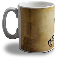 Heavy Metal Guitarist Coffee Mug