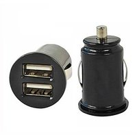 Dual USB Micro Car Charger Power Adapter For Universal Cars And Mobile