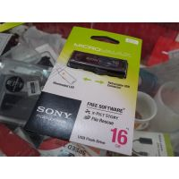 Original Sony 16GB  Micro Vault Classic  Flash Drive Pendrive (Black)+ TAX PAID INVOICE