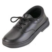Smart Boy Synthetic Leather Shoes Black Size 32