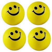 SMILEY BALLS SET OF 2 Hand Massage MASSAGER BALLS STRESS RELAXING BALL PALM