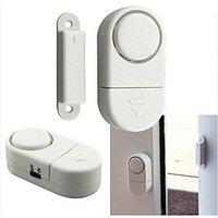 Mini Wireless Cordless Magnetic Sensor Door Window Alarm Burglar Bell