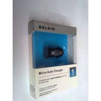 Universal Belkin OEM USB Micro Car Charger Power Adapter For Apple HTC Samsung