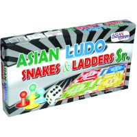 ASIAN LUDO SNAKES & LADDERS SR.
