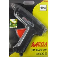 Glue Gun - 60 Watt Mega Professional Glue Gun With 2 Pcs Small Glue Sticks Free