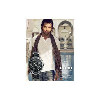 New Rado Hyperchrome Hritik Roshan Wear Chronograph Mens Watch