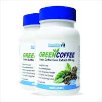 Healthvit Green Coffee Bean Extract 800 Mg  60 Capsules Pack Of 2