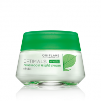 Optimals White Oxygen Boost Night Cream SPF 15 (OILY SKIN)- 50ml
