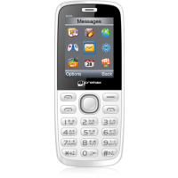 Micromax GC222 GSM + CDMA DUAL SIM MOBILE WITH CAMERA & DIGITAL ZOOM WHITE [CLONE]