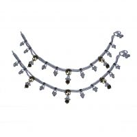 Feel Special With AMAN Silver Anklets For Casual Wear