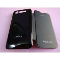 Prime Quality Flip Flap Cover Case For Intex Aqua 3g