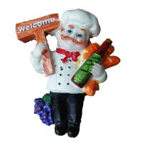 Premium Miniature Fridge Magnets- Welcome Chef (Imported)