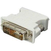 DVI-A 12+5 Male To Female VGA Adapter For PC HDTV Dell