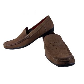 Little Spark Loafers Brown