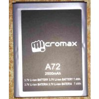 GENUINE MICROMAX A72 Battery-2500 MAh FOR Micromax-A72