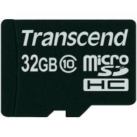 Transcend 32GB Class 10 Micro SDHC Card