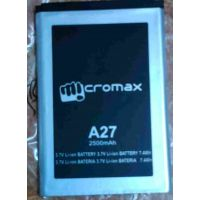 GENUINE MICROMAX A27 Battery-2500 MAh FOR Micromax-A27