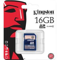 Kingston 16Gb Micro SD, Micro SDHC, Class 4 Memory Card For Mobile/Tablet