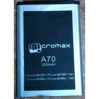 GENUINE MICROMAX A70 Battery-2000 MAh FOR Micromax-A70