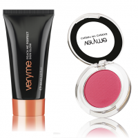 VeryMe Peach Me Perfect Skin Glow - Dark + Cherry My Cheeks(Pink)
