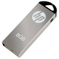 HP V-220 W 8 GB Pen Drive (Grey)