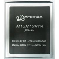 EDGE PLUS GENUINE BATTERY FOR  MICROMAX A116 Battery