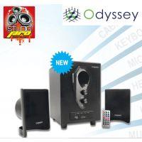 Odyssey Multimedia ODSP 1350 2.1 Speaker System With Built-in FM