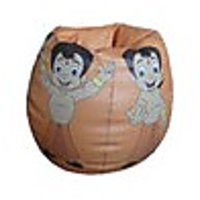 Chota Bheem STR185064 Bean Bag(Orange Size - XL)