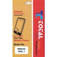 Total Care  Scratch Resistant Screen Guard  For Motorola Moto E