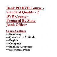 Bank PO Course Prepared By State Bank Officer (DVD)
