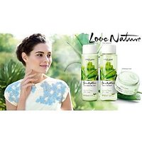 Ori Flame Love Nature Aloe Vera Set Face Wash Toner N Cream