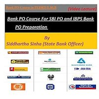 Bank PO Course For SBI PO And IBPS Bank PO Preparation Video Lectures In PENDRIV