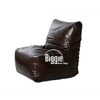 Cozy Bags Bean Chair XL Size Premium Leather Coffee Without Beans