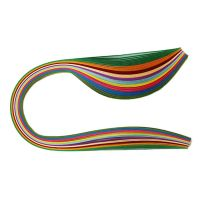 1000 Non-Metallic Multi-colour Quilling Ribbons Paper Strips (5mm)