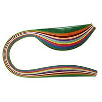 300 Non-Metallic Multi-Colour Quilling Ribbons Paper Strips (25mm)