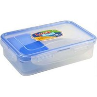 4 Way Lock Seal Airtight Tiffin Carrier Lunch Box